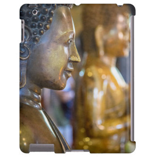 Cambodia, Phnom Penh. Buddha statues