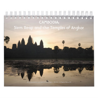 CAMBODIA: Siem Reap and the Temple... - Customized Wall Calendar