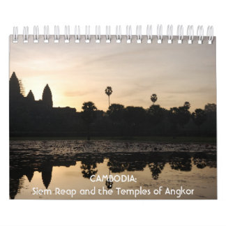 CAMBODIA: Siem Reap and the Temples of Angkor Wall Calendars