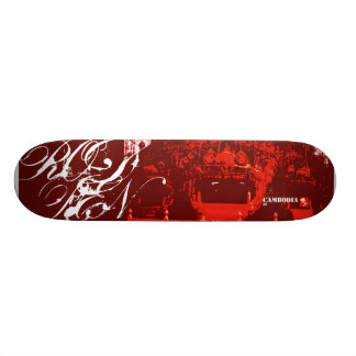 Cambodia : two skateboard deck
