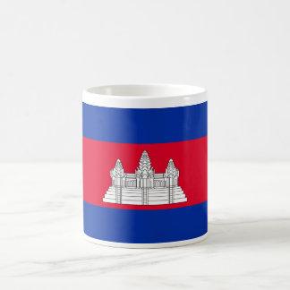 Cambodia World Flag Basic White Mug