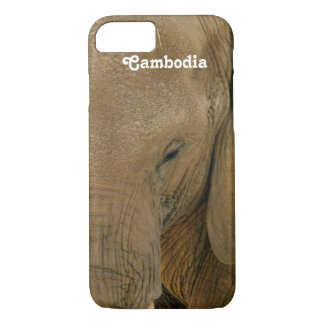 Cambodian Elephant iPhone 7 Case