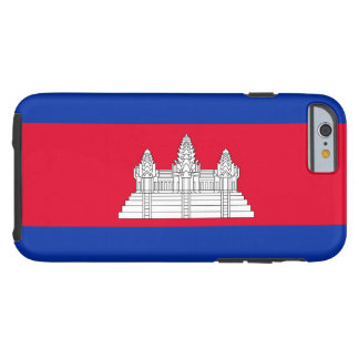 Cambodian Flag Tough iPhone 6 Case