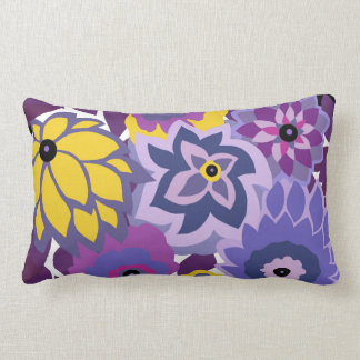 CAMBRIA, ART DECO FLORALS: SUMMER GRAPES LUMBAR CUSHION