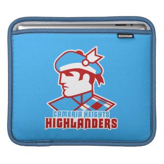 Cambria Heights Highlander Logo Design iPad Sleeves