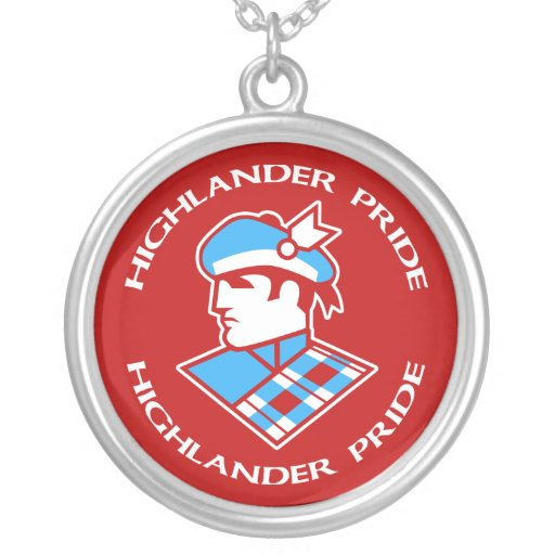 Cambria Heights Highlander Pride Logo Design Jewelry