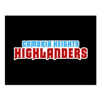 Cambria Heights Text Logo Design Postcard