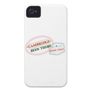 Cambridge Been there done that iPhone 4 Cover