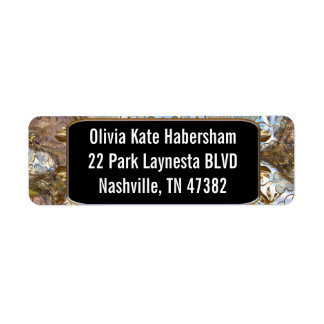 Cambro Elegant Return Address Label