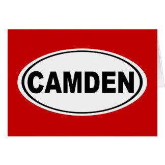 Camden Maine Card