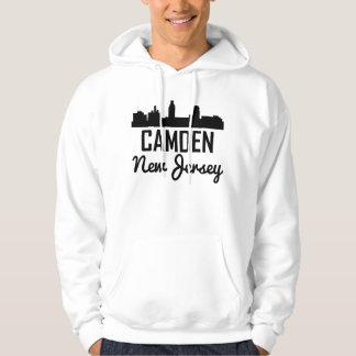 Camden New Jersey Skyline Hoodie