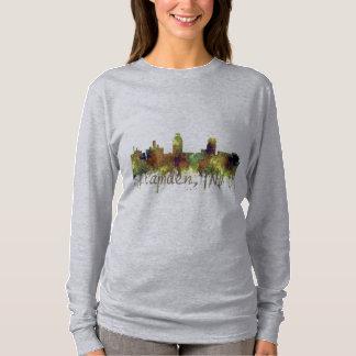 Camden New Jersey Skyline SG Safari Buff T-Shirt