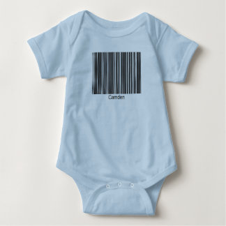Camden Personalized Functional Barcode Tee