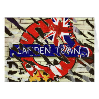 Camden Town Greeting Card