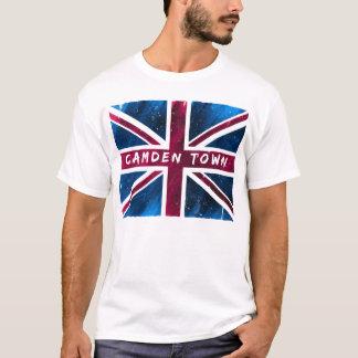 Camden Town - United Kingdom Union Jack Flag T-Shirt