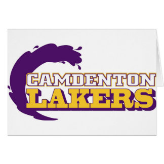 Camdenton Lakers (Ozark Conference) Greeting Card