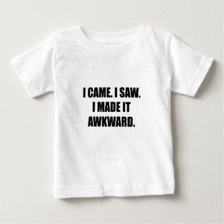 Came Saw Made Awkward Baby T-Shirt