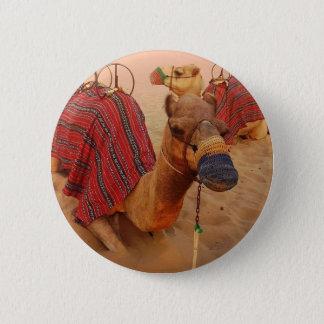 Camel 6 Cm Round Badge