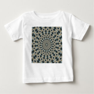 Camel and Teal Kaleidoscope Baby T-Shirt