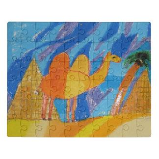Camel Art by Kids Jigsaw Puzzle