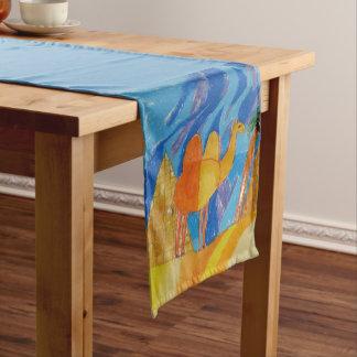 Camel Art by Kids Short Table Runner