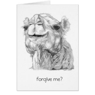 Camel Belated Birthday Card