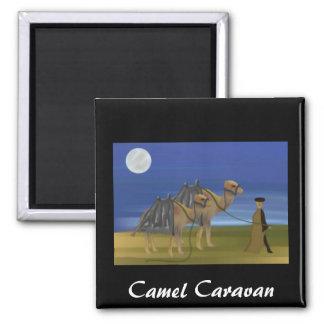 Camel Caravan Magnet