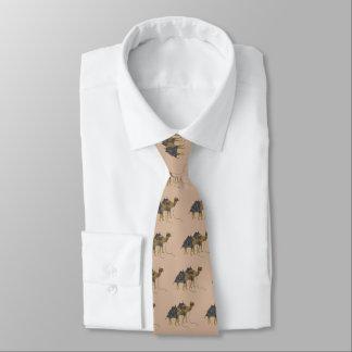 Camel Caravan Tie