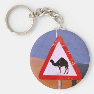Camel Crossing Club Basic Round Button Key Ring