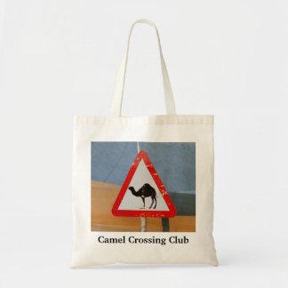 Camel Crossing Club Tote Bag