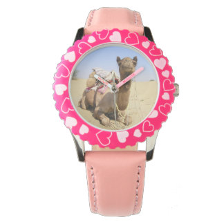 Camel Desert Middle East Peace Love Nature Destiny Wrist Watch