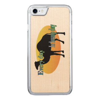 Camel - Every Day is Hump Day Carved iPhone 7 Case