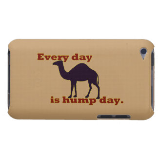 "Camel ""Every Day is Hump Day"" Barely There iPod Covers"