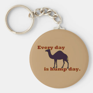 "Camel ""Every Day is Hump Day"" Key Ring"