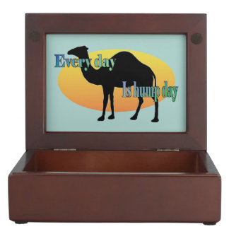 Camel - Every Day is Hump Day Memory Boxes