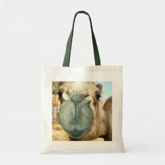 Camel Face Tote Bag