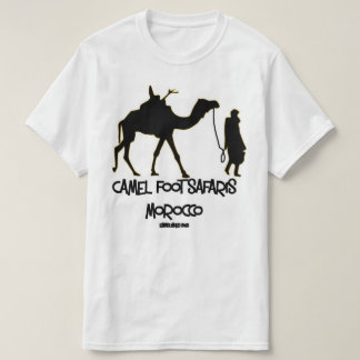 Camel Foot Safaris Morocco Tshirt