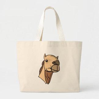 Camel Head Large Tote Bag