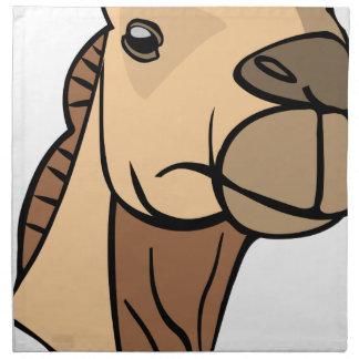 Camel Head Napkin