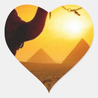 camel heart sticker