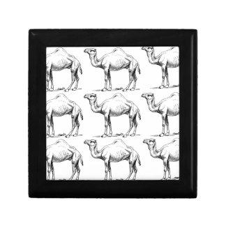 Camel herd art gift box