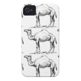 Camel herd art iPhone 4 case