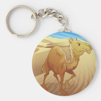 Camel Key Ring