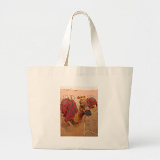 Camel Large Tote Bag