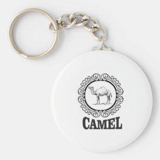 camel logo art key ring