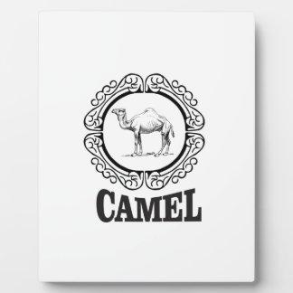 camel logo art plaque