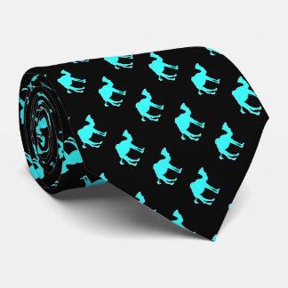 Camel Love Design Black & Teal Tie