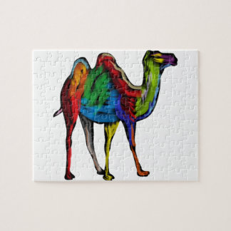 CAMEL OF COLORS JIGSAW PUZZLE