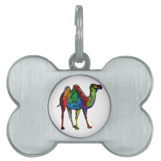 CAMEL OF COLORS PET NAME TAG