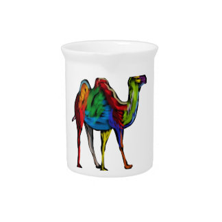 CAMEL OF COLORS PITCHER